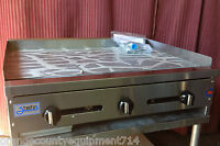 """NEW 36"""" Griddle Gas Flat Top Grill Commercial Stratus Restaurant NSF #1179"""