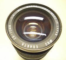 Téléobjectif EXAKTA MC 28 - 70 mm 1:4 Canon FD suite