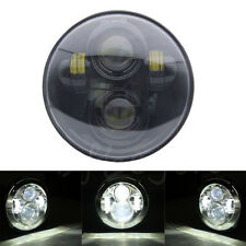 "5.75"" Motorcycle LED Headlight Daymaker Projector Hi/Lo Beam Head Lamp Fr Harley"