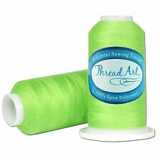 SPUN POLYESTER SEWING THREAD - 50/3 - 600M - 80 COLORS AVAILABLE - THREADART