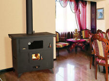WoodBurning Cooking Stove Cast Iron ToP Fireplace Solid Fuel Oven Cooker 14 kw