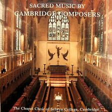 Sacred Music By Cambridge Composers Selwyn College Choir [1988] NM/EX