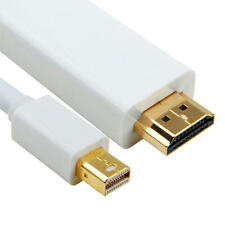 6FT Mini DisplayPort Thunderbolt to HDMI TV Cable Adapter for MacBook Pro iMac