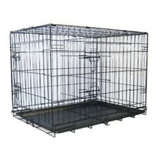 "Go Pet Club 48"" Two Door Folding Metal Cage w/Divider MLD-48 Dog Furniter NEW"