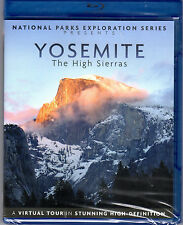 National Parks Exploration Series Yosemite The High Sierras Blu-ray NEW