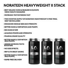 LA Muscle TWO MONTHS MUSCLE BUILDING DEAL RRP £165