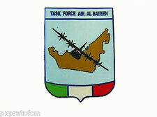 Patch Stampata Op. E.A.U. Task Force Air Al Bateen Emirati Arabi Uniti