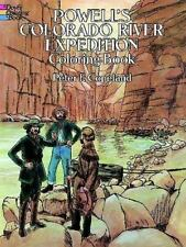 Powell's Colorado River Expedition Coloring Book (The Colouring Books)