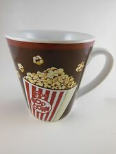 Mikasa Movie Night Pop Corn Mug Cup Gourmet basics NWOT