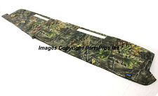 NEW SuperFlage Camo Camouflage Tailored Dash Mat Cover / 1981-87 CHEVY GMC TRUCK