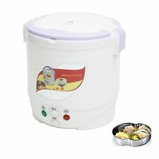 Portable Mini rice cooker for the car connect CIGAR JACK  leisure,camping DC12v