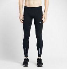 NIKE Men's Dri-Fit Tech Running Tights 642827 010 Black Reflective~NWT S~$80