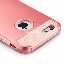 For Rose Gold iPhone 6S Case Shockproof Hard Rugged Bumper Heavy Duty 6 Cover