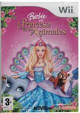 Barbie - La Princesa de los Animales (Nintendo Wii Nuevo)