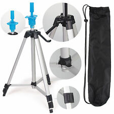 Hair Salon Adjustable Tripod Stand Cosmetology Mannequin Training Head Holder 55