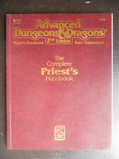 "Manuel ""AD&D TSR - 2nd Edition - the complete priest's handbook"" 1990"