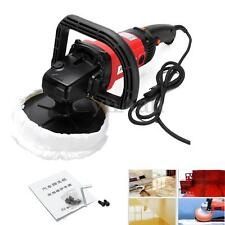 1400W Car Polishing Kit Polisher Sander Buffer Machine & 180mm Sponge Pad Set