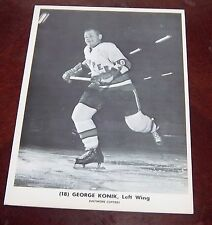 Baltimore Clippers George konik 1963-1964  from the Woody Ryan Collection