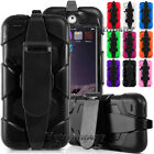 For iPod Touch 5th / 6th Gen Shockproof Hybrid Rugged Protective Case Cover Clip