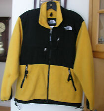 THE NORTH FACE MEN'S YELLOW & BLACK DENALI  JACKET / SZ S
