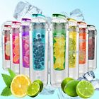 Hot Sport Fruit Infuser Water Cups Juice Bottle BPA Free Filter Bottles 800ML