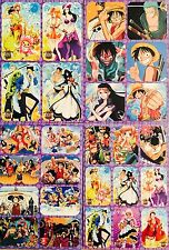Japanese Anime ONE PIECE Sticker Sheets #Z6 Luffy Zoro Nami Usopp Sanji Chopper