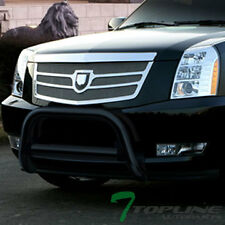 BLK STEEL BULL BAR BRUSH BUMPER GRILLE GUARD 2007+ ESCALADE/ESV/EXT/AVALANCHE
