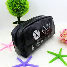 EXO-K FROM EXO PLANET KPOP COSMETIC BAG PEN PENCIL CASE NEW