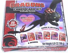 How To Train Your Dragon Lollipop Sucker Candy and Valentine Card Kit Six Design