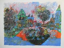 THEO TOBIASSE LITHOGRAPH 77x57cm HANDSIGNED