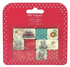 Me to You Tatty Teddy Mini Magnets. Sketchbook design Set of 9 Magnets Cute gift