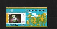 INDONESIA 1990 PLANTS MINI SHEET, SGMS1969, CAT £18