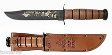KA-BAR #9127 U.S. ARMY IRAQI FREEDOM COMMEMORATIVE FIGHTING UTILITY KNIFE