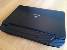 Asus G750 Series Carbon Laptop Skin Cover for JX / JZ / JM / JH/ JW / JS models