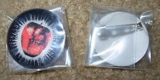 WHITE STRIPES Lenticular Get Behind Me Satan PIN BUTTON Jack Third Man Records