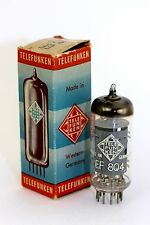 1955 BERLIN Telefunken EF804 SINGLE Telefunken Diamond tube for V72 Preamp