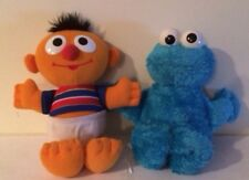 Sesame Street Squeeze-a-Song Talking Cookie Monster & Baby Sniffles Ernie Plush
