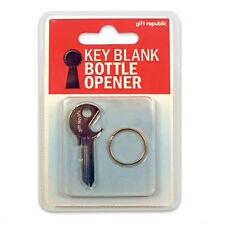 Blank Key Bottle Opener Cut To Your Door Party Alcohol Adult Fun Novelty Gift