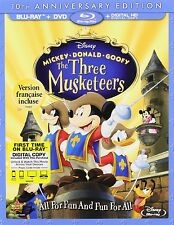 The Three Musketeers (Blu-ray Disc, 2014, 10th Anniversary)
