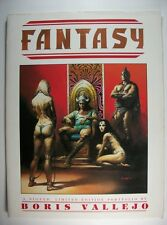SIGNED Boris Vallejo FANTASY portfolio - 6 PRINTS -  Blackthorne (#1534 / 2000)