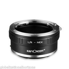 Lens Mount Adapter Ring L/R to NE for Leica R Lens to Sony E-Mount NEX Camera