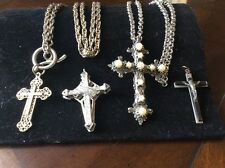 cross pendant lot-4
