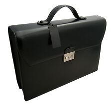 Ck Cartella Calvin Klein Borsa cartella 100% Pelle 24ore uomo donna Bag