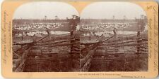 U. S. INFANTRY CAMPS - 7TH, 8TH   12TH STEREOVIEW