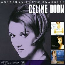 Original Album Classics - Celine Dion (2010, CD NEUF)3 DISC SET