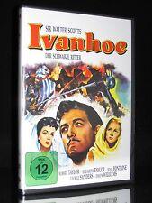 DVD IVANHOE - DER SCHWARZE RITTER - ROBERT + ELIZABETH TAYLOR - SIR WALTER SCOTT
