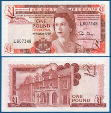 GIBRALTAR 1 Pound  1988 UNC  P. 20 e