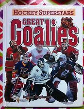 Hockey Superstars: Great Goalies by James Duplacey c1996, VGC Hardcover