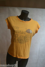 TOP TEE SHIRT  BENETTON  COTON  TAILLE M / 38 HAUT/MAGLIA  BE
