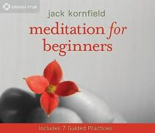 Meditation for Beginners by Jack Kornfield (2010, CD, Anniversary, Abridged,...
